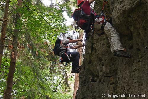 Klettersteig Fränkische Schweiz : Klettersteig fränkische schweiz bergwacht darmstadt dieburg